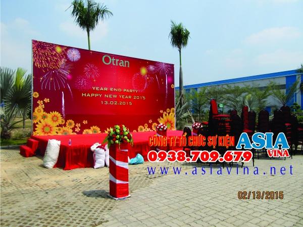 Tổ chức tiệc tất niên 2014 tại Công Ty CP Otran Logistics